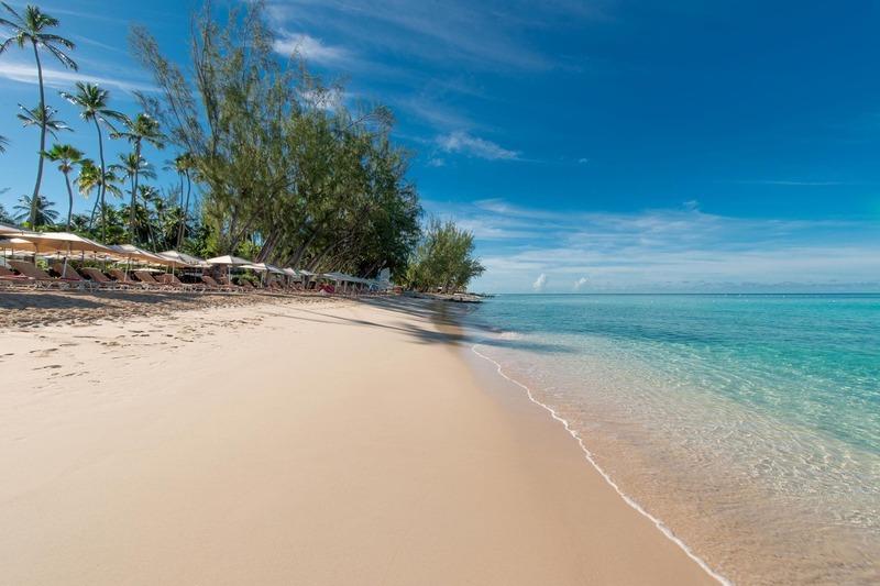 Beach at Colony Club Barbados